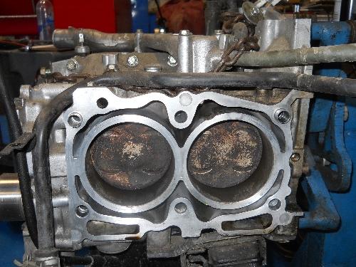 Subaru cylinder head