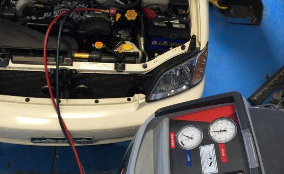Subaru A/C Recharging