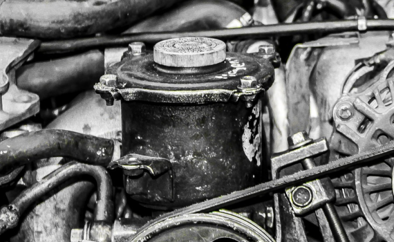 Subaru Engine Closeup