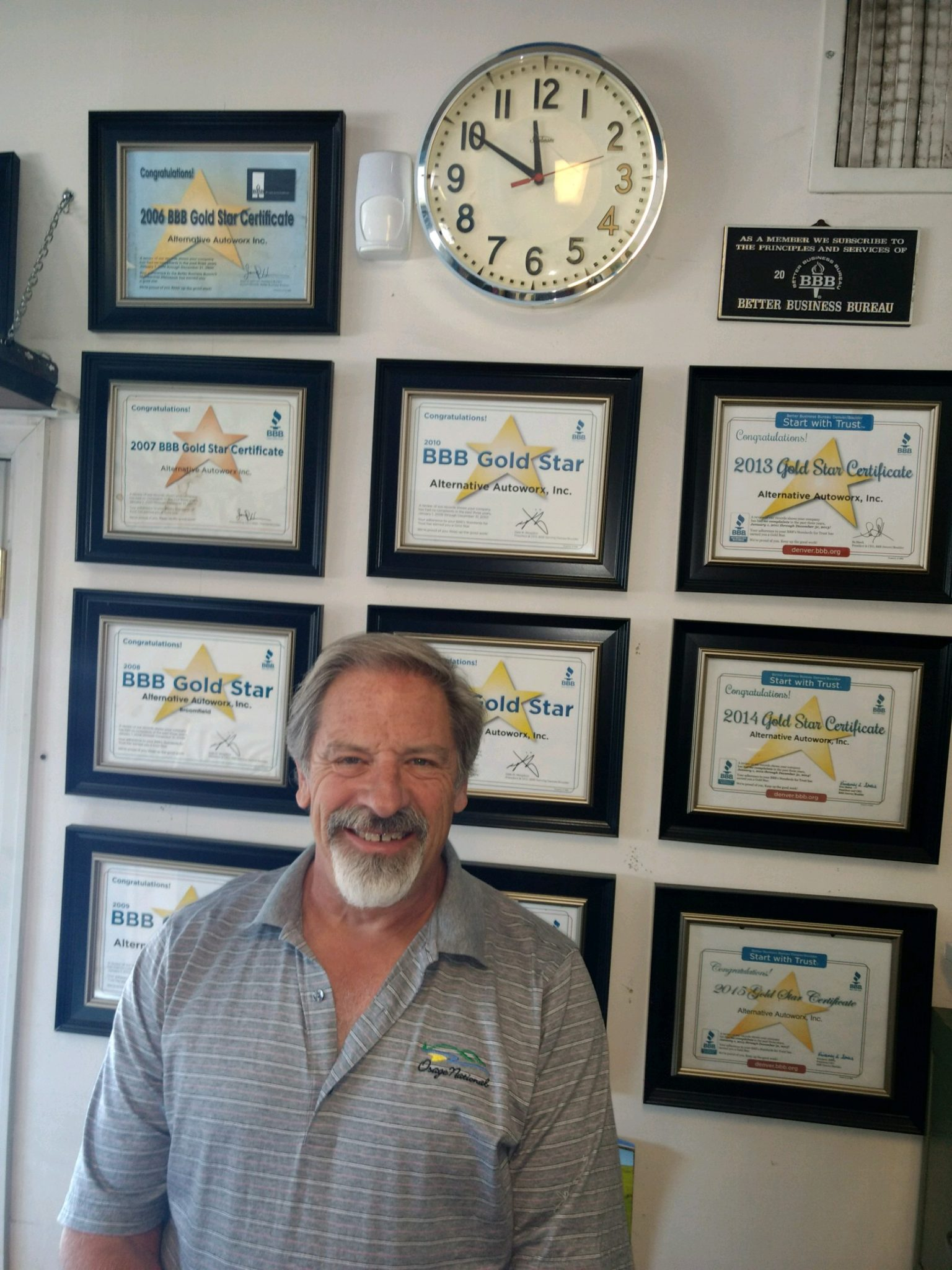 Joel Edson, owner of Alternative Autoworx